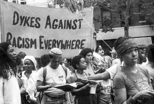 Identity politics, and intersectionality theory, grew out of the real antagonisms queer women of color were faced with against other sectors of the class in the US in the 60s and 70s.