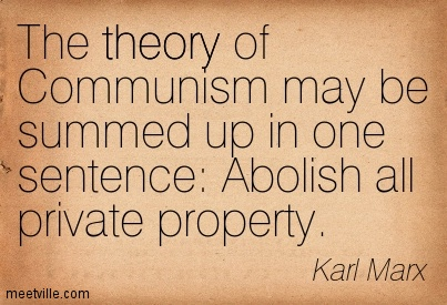 property according to karl marx and Marx's theory of historical materialism is historical the theory of historical materialism was discovered by karl marx according to marx.